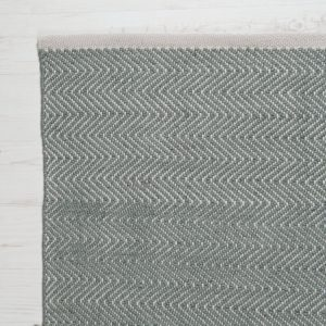 Herringbone Dove Grey Corner